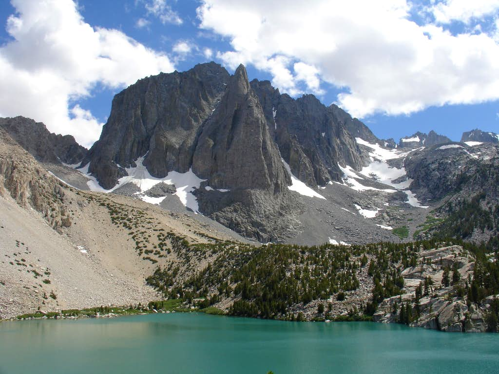 Temple Crag from Second Lake