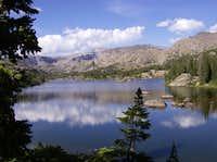 Cloud Peak and Lake Helen