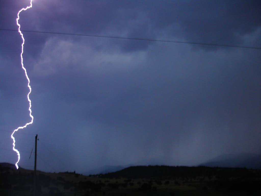 Lightning storm fun