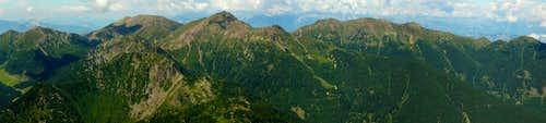 Monte Ziolera: panorama NW
