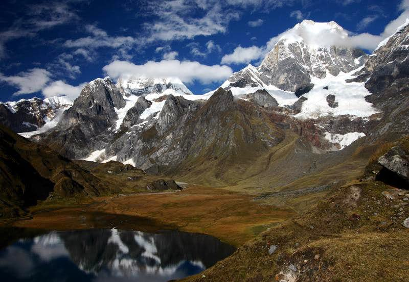 Sixteen Days in the Cordillera Huayhuash