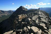 East Hayden Peak - south ridge route