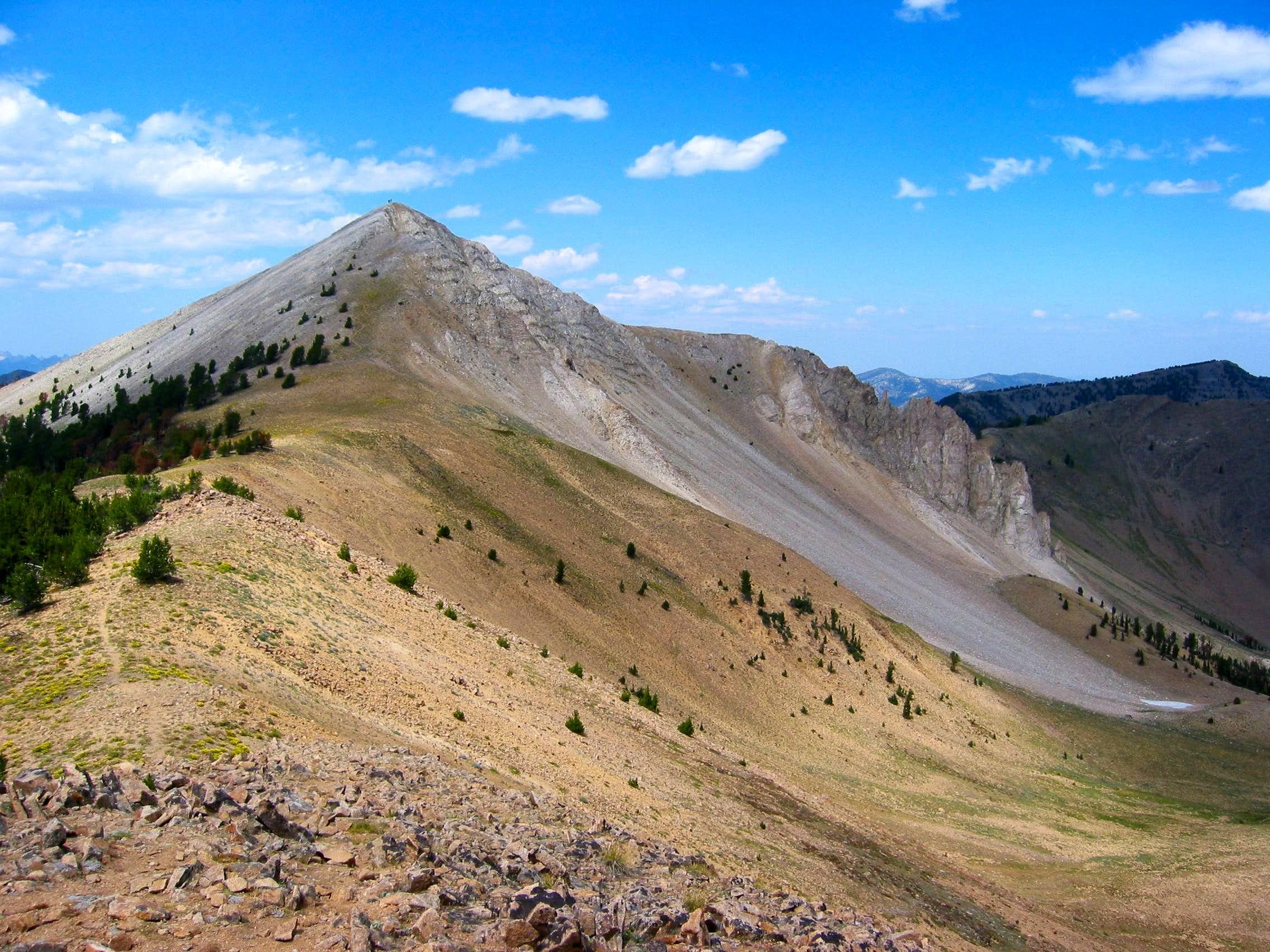 Blackman's SE ridge.