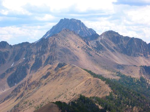 Patterson Peak from the