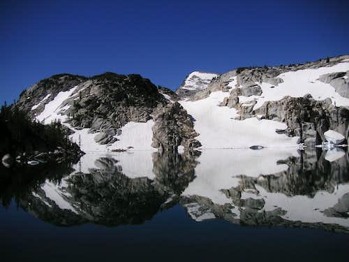 Little Annapurna from Talisman (Inspiration) Lake