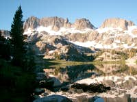 Minarets from Ediza Lake