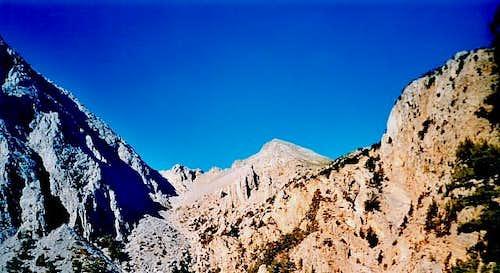White mountains of Omalos...