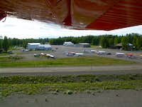 Talkeetna view from the plane