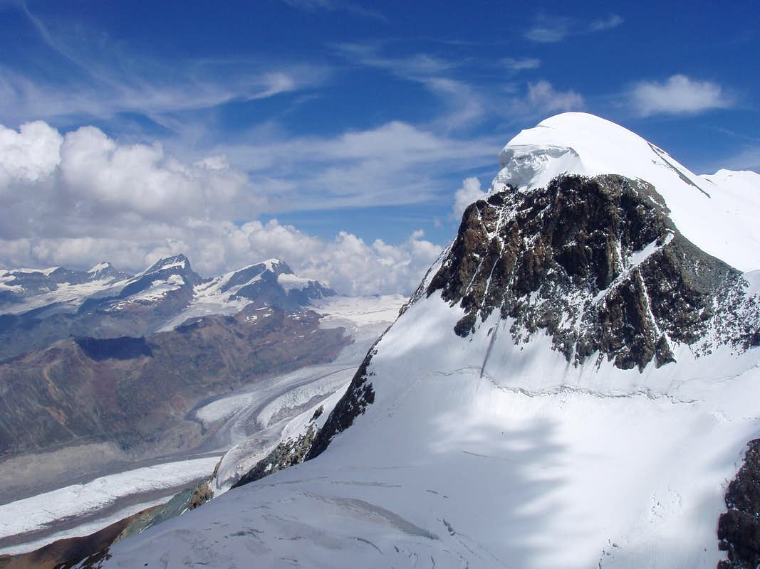 West face of Breithorn