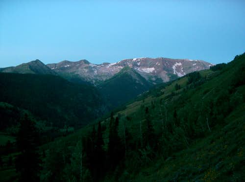 <a href=http://www.summitpost.org/mountain/rock/289762/treasure-mountain-a.html>Treasure Mountain A</a> from Lead King Basin
