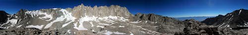 Mt. Whitney Pano from Wotans Throne