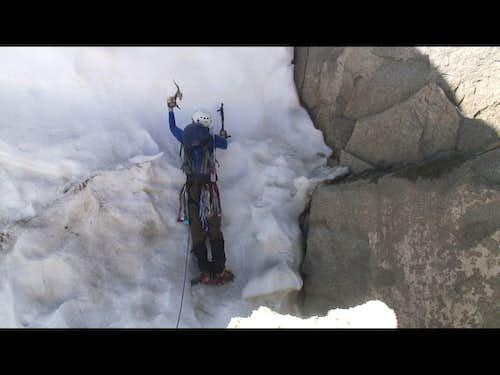 Climbing the Begrschrund