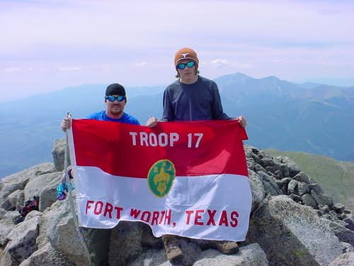 Troop 17 Shavano Summit
