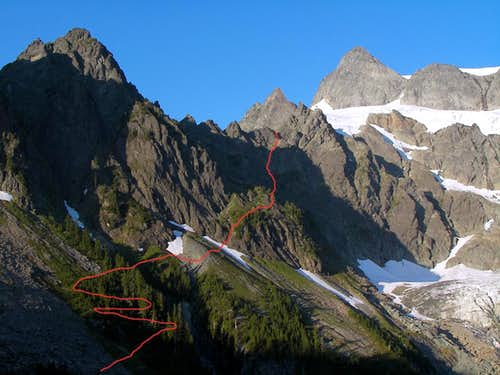 Shuksan: Fisher Chimneys Route