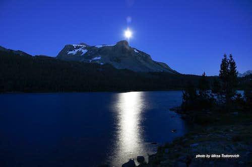 Mt. Dana at moonlight