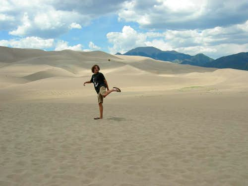 Hacking at the Great Sand Dunes