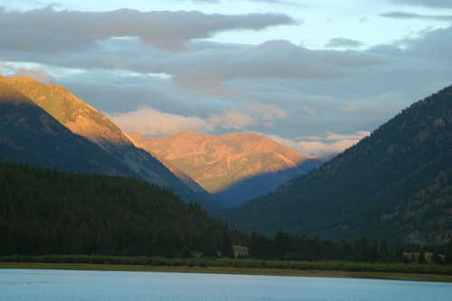 Early Morning View of Elbert