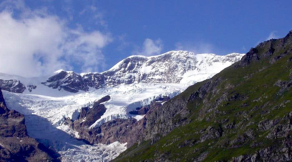 Il ghiacciaio del Lys