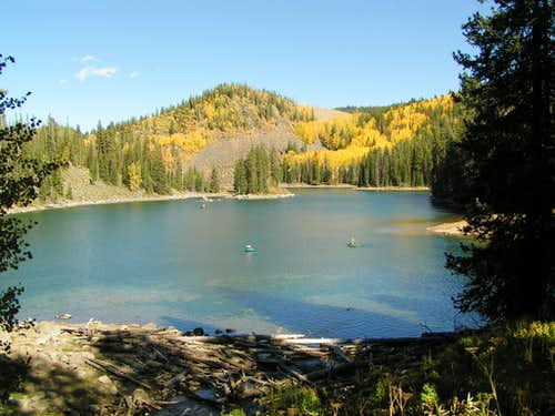 South Mesa Lake in Fall