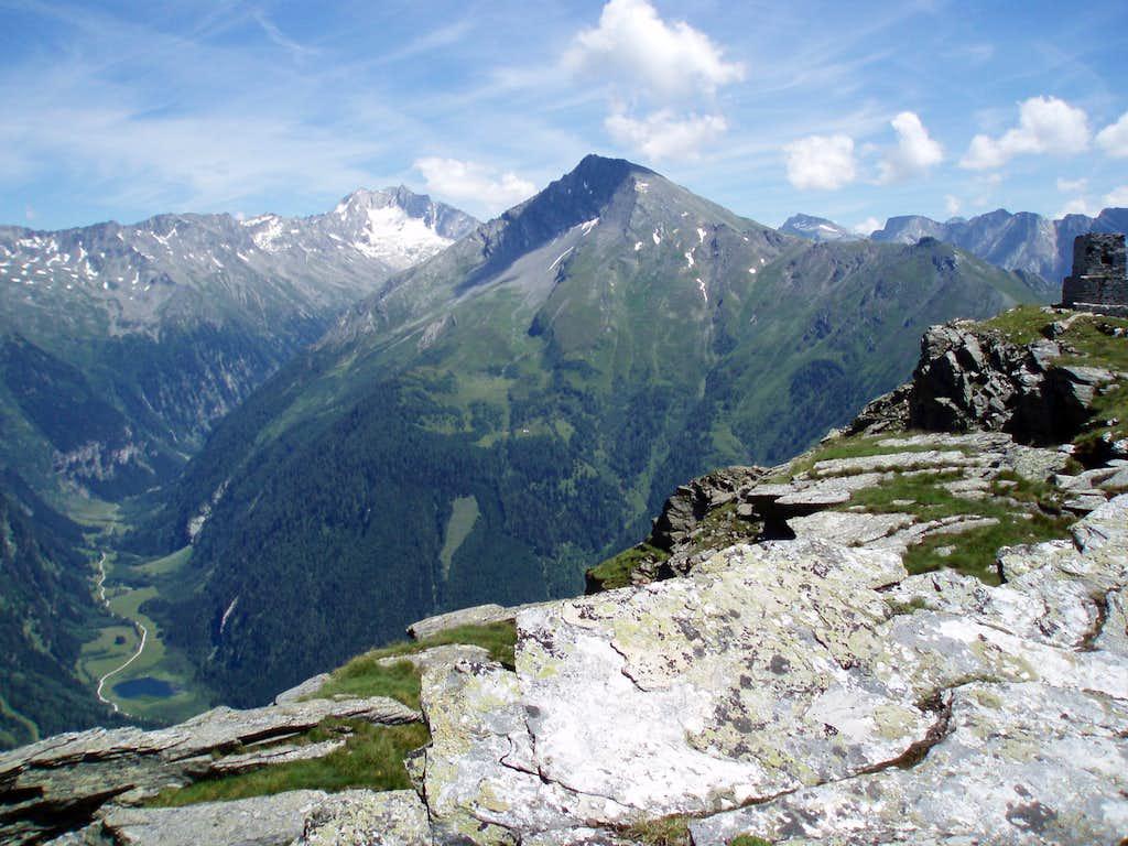 Maresenspitz from near Liegelespitz