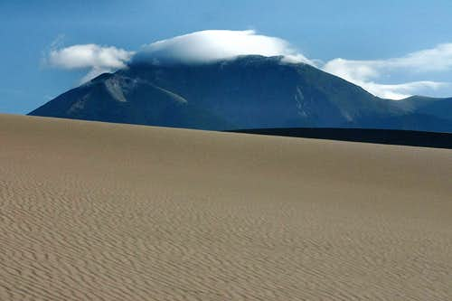 Mt. Herard from Great Sand Dunes NP