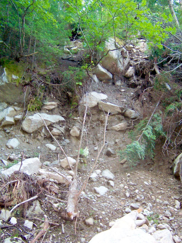 Fresh Landslide
