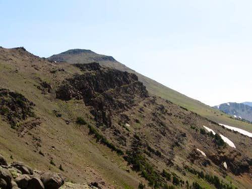 Aneroid from ridge