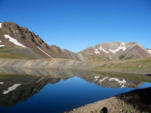 Dollar lake reflection