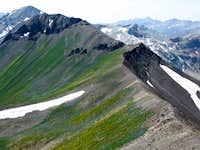 Ridge from Sentinel