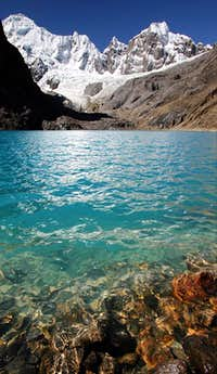 Peaks Above Laguna Jurau