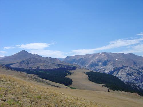 Old Glacier Trail view