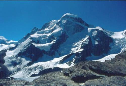 Breithorn seen from Trift,...