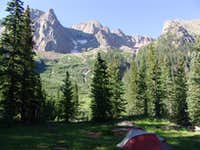 Chicago Basin Camping
