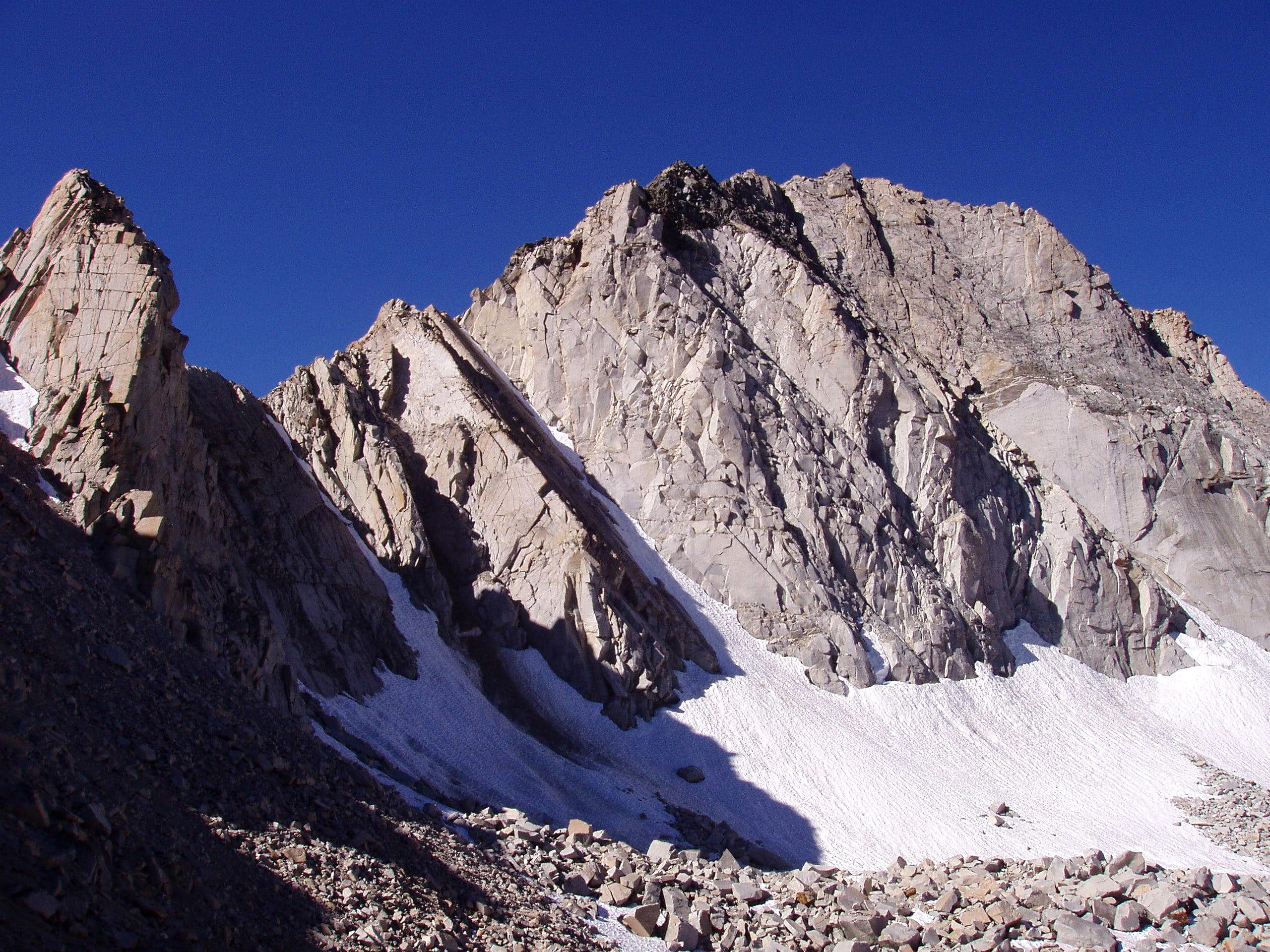 Giraud Peak; When a Good Day Turns Terribly Bad