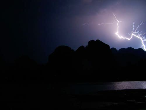 Vang Vieng Monsoon Storm