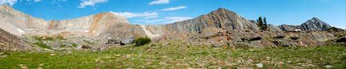 Big Basin peaks
