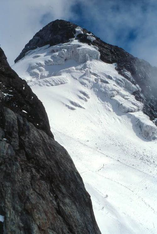Margherita Peak via Margherita Glacier