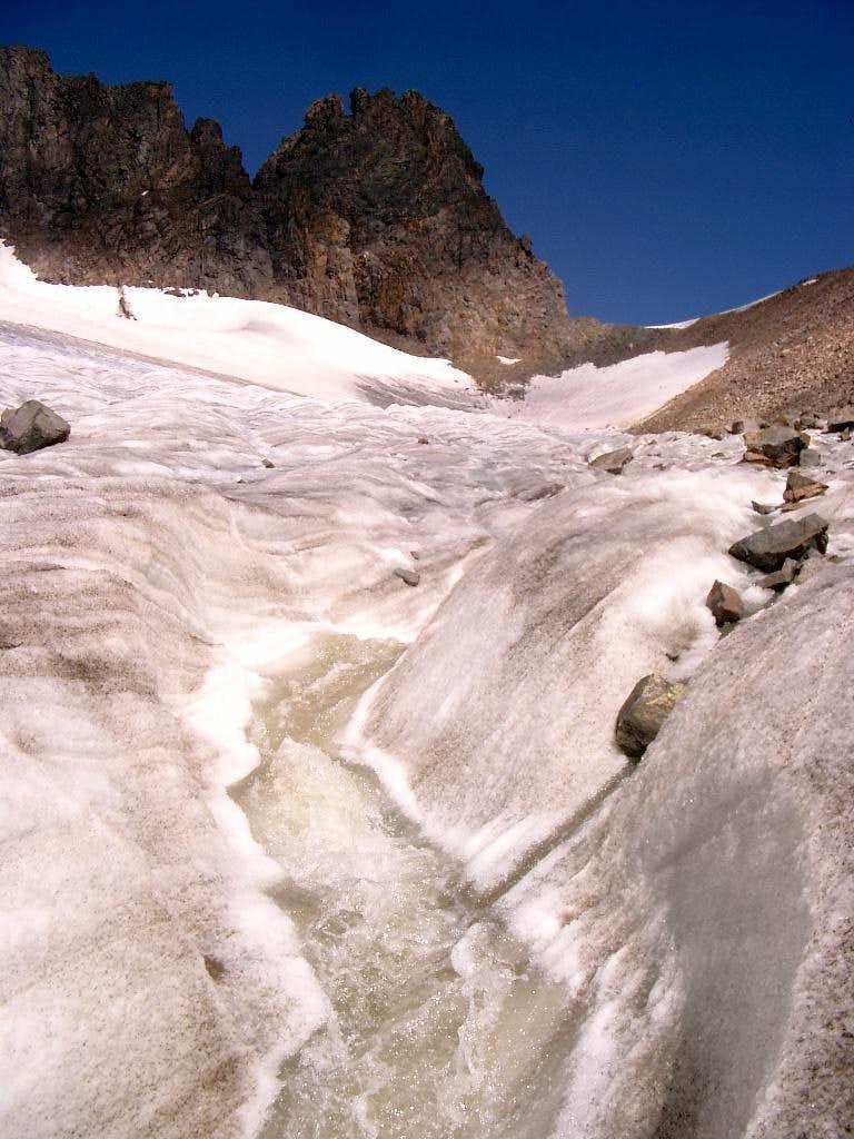 Glacier Stream and the Spire