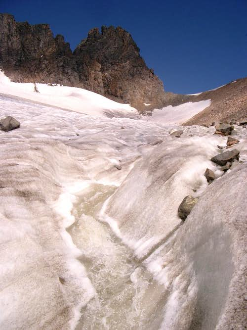 Glacier Stream and the Spire