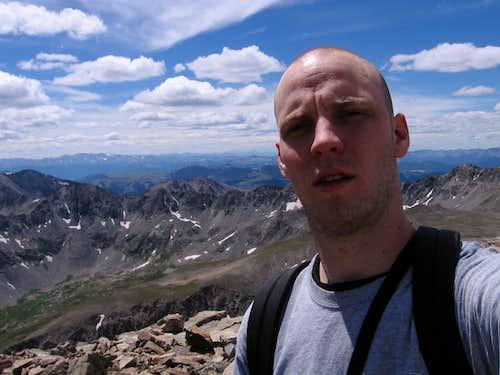 quandary peak, summit pic