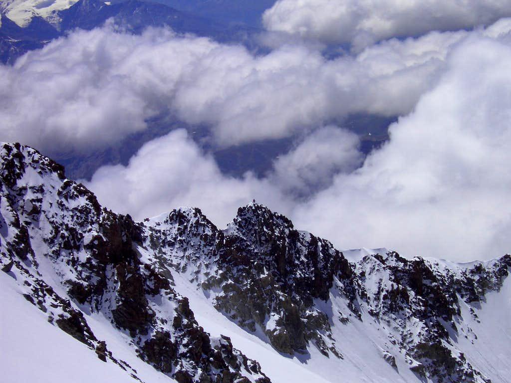 End of Brouillard Ridge