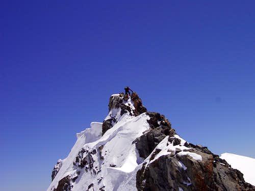 Top of Mont Blanc de Courmayeur
