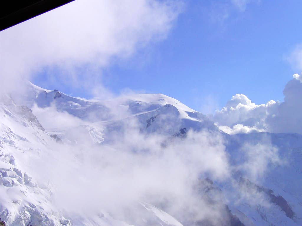 Mont Blanc from Refuge Cosmique