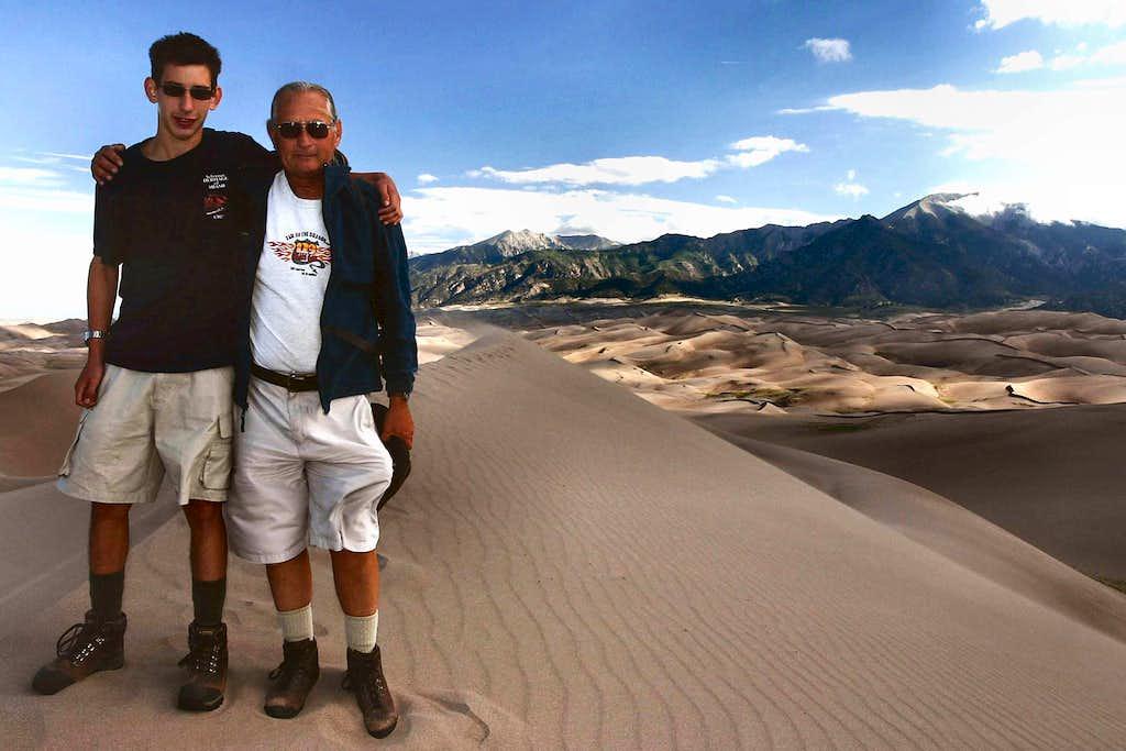 High Dune Summit Shot