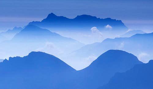Zugspitze Silhouette