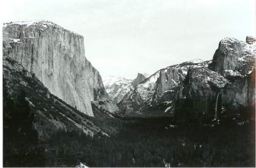 Yosemite Valley on the...