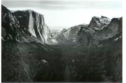 Yosemite Valley on the...