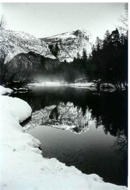Mt. Watkins and Mirror Lake,...