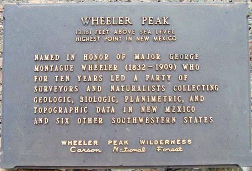 Wheeler Peak: Bull-of-the-Woods Trail