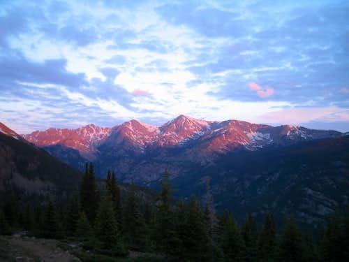 Mt Jackson Alpenglow
